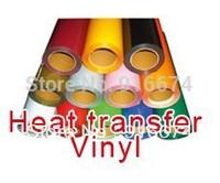 "Fast Free shipping DISCOUNT 6 pieces 20""x20"" (50x50cm) PU vinyl for heat transfer heat press cutting plotter"