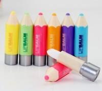 Free shipping high quality lip balm Lip Smacker super lovely colour pen christmas gift present 192pcs 8pack/lot