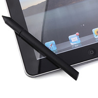Free Shipping Touchpad Stylus Pen for iPad iPad 2 and The new iPad Tablet PC (Black)