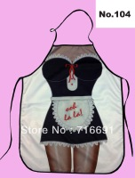 Ladies Funny Apron -Lovely  Apron - Kitchen Apron - Sexy Woman Fun Cooking