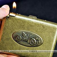 Best cigarette case vintage belt lighter cigarette case 20 lighter fine cigarette