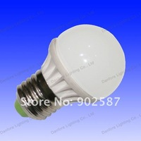 Free Shipping 10pcs/Lot 1W  90lm CE RoHs Ceramic  Mini E27 LED Light  Bulb