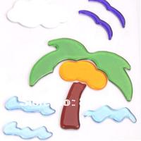 Free shipping hot sell Decorative window gel sticker