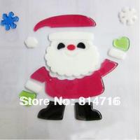 Free shipping 2012 christmas window jellies sticker