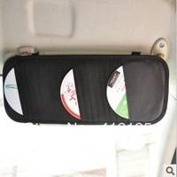 Multi-function car sunshade plate CD holder car CD bag auto supplies many onchip D292
