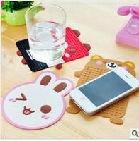 Super cute things to be multi-functional magic silica gel mat cup mat