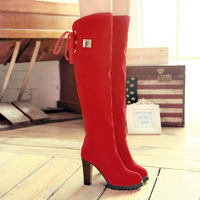 drop wholesale  fashion popular high over-the-knee boots for women  THSJKL-668