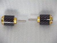 Carbon fiber bar end  for hon da CBR1000RR 04 05 06 07 08 09 10 gold