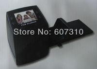 "Newest Arrival 5MP Digital Film Scanner/Converter 35mm USB LCD Slide Film Negative Photo Scanner 2.36"" TFT + Free Shipping"