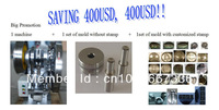 Hot promotion Saving USD400, buy one get two sets of free molds, TDP-5 single punch tablet press machine+2 sets of molds