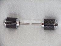 Carbon fiber bar end weight R1 98 08 R6 06 07  CHROME