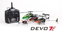 hot selling 7ch 2.4G Walkera RC helicopter spare part  transmitter For helicopter DEVO 7E with the receiver RX701