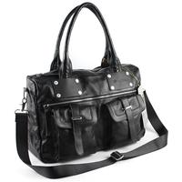 free shipping Personalized fashion 100% genuine leather man bag cowhide shoulder messenger bag leather travel bag