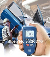 Lastest Version CEM DT-156/DT156 Paint Coating 0~40 C Thickness Tester Gauge With DHL/EMS FreeShipping Blue Color 0~1250um Range