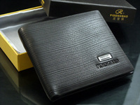 Free shipping2012 new stylish Men wallet+ genuine cow Leather +mens coin purse,black color,dropshipping,wholesale  MSW35