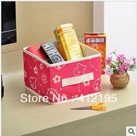 Creative household nano and happy valley folding ZaWuHe finishing receive box store content box C614