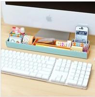 Environmental protection three color mini contracted paper boxes desktop organizer