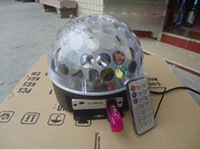 MP3 music magic laser light, led stage light, LED crystal ball lamp for bar KTV wedding
