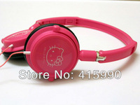 WIRE hot sales new brand wired headband foldable earphone High-quality headphones Cartoon hello kitty headsets