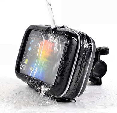 "Universal Waterproof Bicycle Motorcycle Mount Holder & Case for 4.3"" GPS CELL PHONE IPHONE IPOD MP3 MP4 MP5(China (Mainland))"