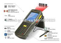Fingerprint Biometrics handheld PDA with 1D laser barcode scanner,RFID Reader,GPRS/GSM,BT,GPS,WIFI (MX8900)