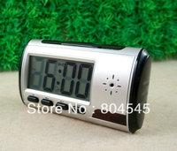New alarm clock Multi Function Security cam W/H video camera Silver