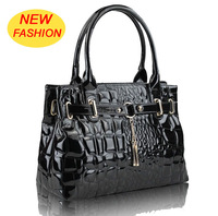 Free Shipping, 2012 NEW fashion lady bags ,women handbags with Patent leather ,quality guarantee