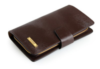 Free shipping genuine leather clutch wallet,Business bag and clutch wallet,hot sale Fashion clutch and New leather wallet P11222