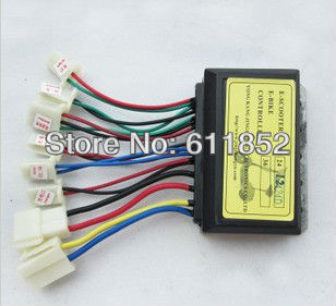 Electric E Scooter Bike Parts Brush Motor Controller 24V 250W(China (Mainland))