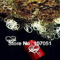 Free shipping 20pcs/lot Nail art tools for DIY super flash super lovely nail art metal strips