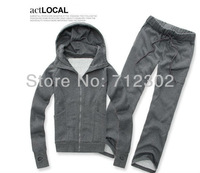 Free Shipping Men Autumn and winter men's track suit Gloves sportswear  jacket Korean sweater