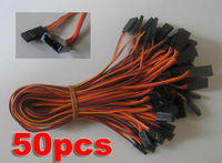 New 300mm 30cm Servo Extension Lead Wire Cable for Futaba JR 50pcs