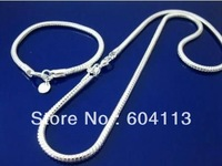 IKNDF090 // Free shipping silver set, 925 silver plated sets, wholesale fashion hot sale 925 Silver jewelry, new promotion