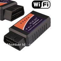 Wholesale Lowest price 2014 New wifi elm327 Wifi 327 OBD2 II Auto Diagnostic Scanner tool for iPhone,iPad,iPod factory