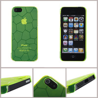 Free shipping**1000pcs/lot** hard Plastic case for iphone 5 5g with the water cube texture by DHL