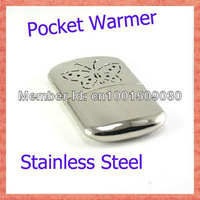 Stainless Steel Hand Warmer Available Indoor and Outdoor Portable Pocket Warmers