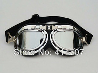Free Shipping! Drop Shipping! 1 piece x Motor Motorcycle Goggles Safety Sunglasses Scooter Protective Glasses 5 Colors