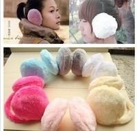 Cheece . wool fluffy earmuffs