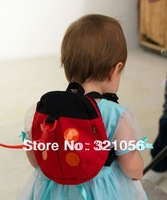 Ladybug Baby Kid Keeper Toddler Walking Safety Harnesses Backpack Strap Bag,Anti-lost Walking Wings Freeshipping Dropshipping