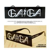 Free shipping Lady gaga glasses masquerade general sunglasses