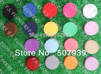 "Free USA Packet/CPAP 1.5""/4CM die cut round felt circle applique hair clip felt circles 2000pcs/lot,21 stock colors"
