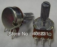 New 50pcs 15mm WH148 1k,2k,5k,10k,20k,50k,100k,250k,500k,1M(Optional) Ohm Liner Taper Potentiometer Pot Rotary