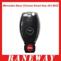 Mercedes Benz Chrome Smart Key 433MHZ Free Shipping