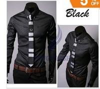 new men's shirts,business shirts,casual slim fit stylish dress shirt,men's clothing