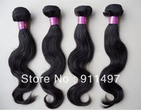 DHL free shipping 100% brazilian virgin remy hair weave body  high quality in stock now DHL free shipping