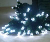 SET OF 2 Solar Power Strand String Lights 100-LED light string White 2pcs
