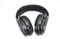 Free shipping DETOX headphones on ear headphone with volumn in Pure Black PRO headphone