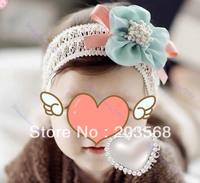 3pcs/lot Girls Baby Headdress New Kids Flower Bow Clothing Hair Accessories Elasticity Headband