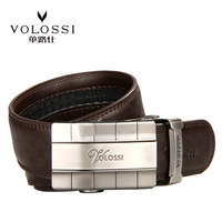 Male cowhide strap cowhide automatic buckle belt high quality alloy v1310046
