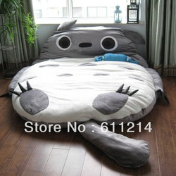 2012 models 210CM Totoro Double bed sleeping bag sofa large gift Free shipping by DHL EMS(China (Mainland))